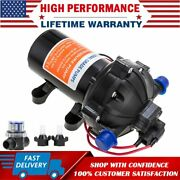 High Pressure Marine Water Diaphragm Pump 12v 60psi 5.0 Gpm For Boat Rv's Beats