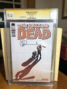 Walking Dead 103 Cgc Ss 9.6 Charlie Adlard 2012 Signed By Cover Artist