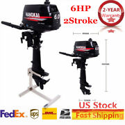 Hangkai 6hp 2stroke Outboard Motor Fishing Boat Engine Water-cooled And Cdi System