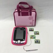 Lot Of 1 Leapfrog Leappad 2 Learning Table And 5 Games Not Tested