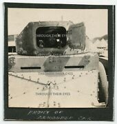 Original Wwi Photo Front View Of Rnas Rolls Royce Armoured 1915 Ww1 Photograph