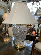 Beautiful Large Waterford Table Lamp