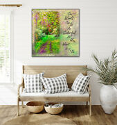 The World Can Be As Colorful As You Want It To Be Nature Path Photo Print