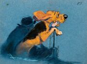 The Fox And The Hound Original Concept Painting By Disney Legend Mel Shaw 1981