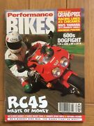 Performance Bikes Magazine 4 Discounts For Multi Buys 70 Mags Avail Email Nos