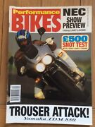Performance Bikes Magazine 21 Discounts For Multi Buys 70 Mags Avail Email Nos