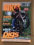 Performance Bikes Magazine 45 Discounts For Multi Buys 70 Mags Avail Email Nos