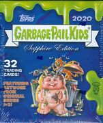 2020 Topps Garbage Pail Kids Sapphire Limited Edition Factory Sealed Box Gpk