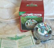 Hallmark Light And Motion Ornament Country Express Train 1988 Working
