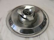 1964 Dodge Vintage Factory Original Oem Hubcap Wheel Cover With Spinner Used