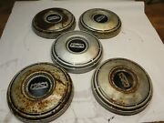 1967-68-69 Ford 1/2 Ton Truck F150 Oem Painted Poverty Hubcaps Ford C7ta-1130-g