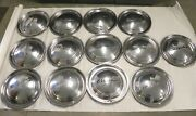 1949 Chrysler Vintage Factory Oem Hubcap Wheel Covers Lot Of 13 Used