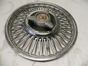 1963-64 Ford Falcon Sprint Vintage Oem 13-inch Hubcap Wheel Cover Spinner Style