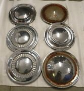 1950s Vintage 15 And16-inch Aftermarket Hubcap Wheel Cover Lot Chevy Gm Ford Mopar