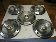 1965 Dodge Vintage Factory Original Oem Hubcap Wheel Covers Sold As A Lot Of 5
