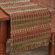 Pumpkin Spice Table Runner Chindi Fall Autumn Thanksgiving Kitchen Dining 54l