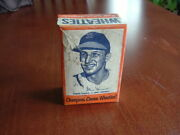 1951 Wheaties Champions Full Sealed Cereal Box Stan Musial St Louis Cardinals
