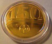 150 Years Anniversary Commemorative 585 Gold 415 Silver 7.25g Coin W/book