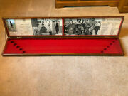 1960and039s Bucks County Walking Sticks Wood Store Display Case