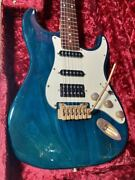 As Is Chandler Unknown Model Mod Mij Vintage Stratocaster Hss W/gb Free Ship