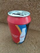 Olympic Games Coca Cola Tin Can Collectable Moneybox Piggy Bank 2011 2012 London