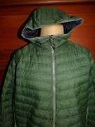 Columbia South Valley Hybrid Hooded Puffer Jacket Green Xx-large New W/ Tags