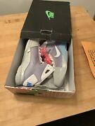 Nike Hyperdunk Marty Mcfly [size 13] Back To The Futureandnbspglow-in-the-dark Outsole