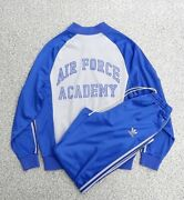 Adidas Usafa Jersey Setup Blue X Gray Menand039s Size L 80s Rare Vintage Made In Usa