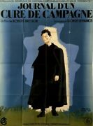 Diary Of A Country Priest Journal D'un Cure De Campagne Robert Bresson1951 47x63