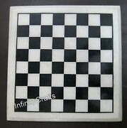 12 Inches Marble Game Table Top Inlay Coffee Table Perfect Kids Room Furniture