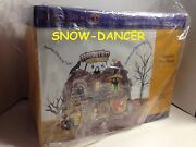 Department 56 Snow Village Halloween Haunted Fun House Retired New In Box