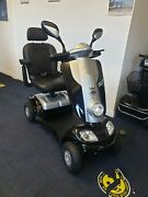 Kymco Midi Xls 8mph Mobility Scooter Looks New New Batteries Warranty Black