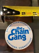 The Chain Gang Vintage Motorcycle Motocross Sticker Decal  B32