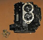 Evinrude 90 Hp 60 Degree Cylinder Block Assembly Pn 0436945 Fits 1995-1998