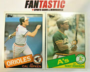 1985 Topps Baseball And Topps Traded Card You Pick 601-792 And 1t-132t Inc Rc Etc.
