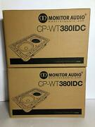 Brand New Monitor Audio Cp-wt380idc In-wall/in-ceiling Speaker X 2 Units