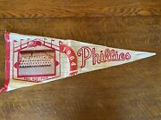1964 Philadelphia Phillies Pennant With Picture - Very Rare Price Reduced