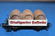 Marklin Ho Scale Hofbrau With Wood Barrels Have Never Seen Another One