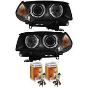 Xenon Headlight Set For Bmw X3 Year 06-10 Facelift Without Bending Light D1s+