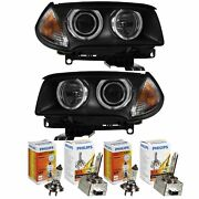 Xenon Headlight Set For Bmw X3 Year 06-10 Facelift Without Adaptive Light D1s+