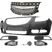 Set Bumper Front+fog + Accessories Vauxhall Insignia Year 08-13 For Pdc 6