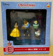 Disney Christmas Ornament 2020 Beauty And The Beast Belle Complete Box Figure