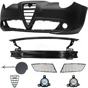 Set Kit Bumper Front +carrier+accessories+fog For Alfa Romeo Mito 955 08-