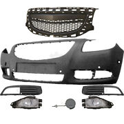 Set Bumper Front+fog+accessory Vauxhall Insignia Built 08-13 For Pdc 6 Holes