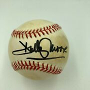 Dudley Moore Signed Autographed Official Major League Baseball With Jsa Coa
