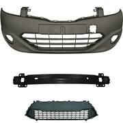 Set Bumper Front Primed Carrier Accessories For Hyundai I30 Year 10-12 Facelift