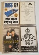 Mass 187 Cassette Tape Lot Real Trues Payin Dues