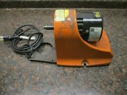 Eraser Co. Rush Model C100s Automatic Wire Stripper Machine Motor And Base Only