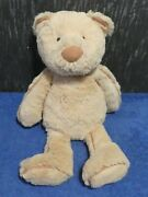 Jellycat Beige Teddy Bear With Brown Piping Piper Bear Retired Jelly982