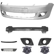 Set Bumper Front For Ford Fiesta 5 V Jh Jd Year 05-10 Carrier+accessories+fog